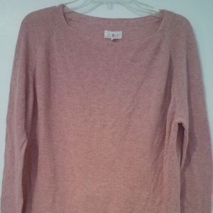 Lou Grey 100% Cotton Fine Ribbed Sweater S